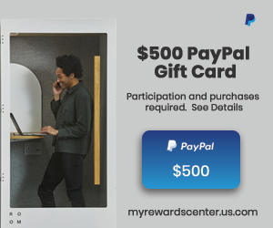 $500 PayPal Gift Card